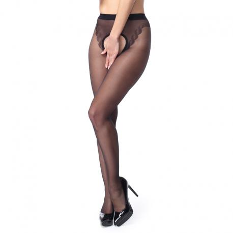 Open tights black P211 –S305 MissO