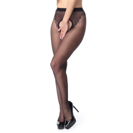 Open tights black P211 –S305 MissO