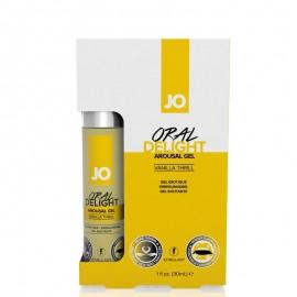 Gel Stimulant sexe Oral Delight Vanille - System JO