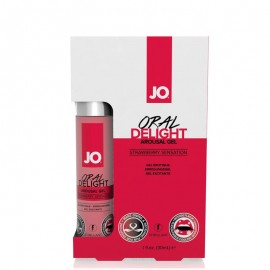 Intimate Gel for Oral Sex Delight Strawberry Sensation - System JO
