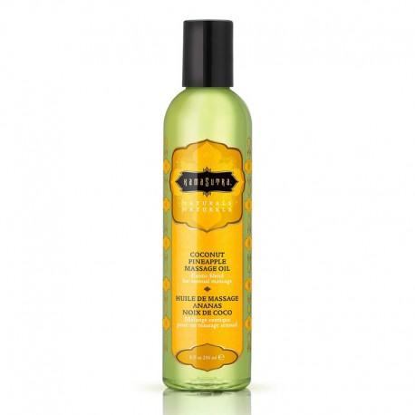 Olio per massaggi Kamasutra - Naturals Coconuts Pineapple 200ml