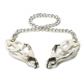 Butterfly Nipple Clamps with chain Monarch - Master Series