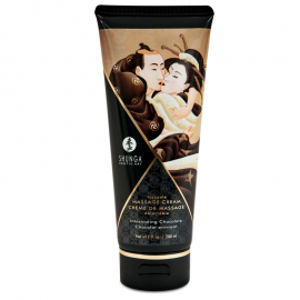 Kissable massage cream Shunga - Intoxicating Chocolate