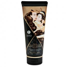 Kissable massage cream Shunga - Intoxicating Chocolate