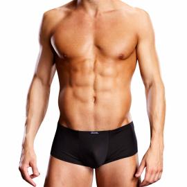 Sexy schwarze Unterhose Performance Microfiber Short - Blue Line