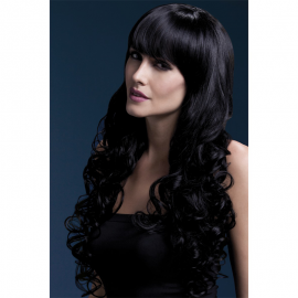 Lunga parrucca nera Isabelle – Fever
