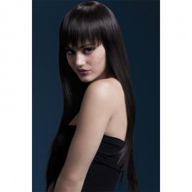 Perruque Jessica brune 66 cm – Fever