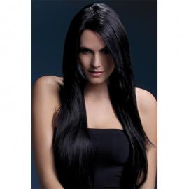 Perruque Amber noir 71 cm – Fever