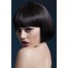 Perruque Mia brune 25 cm – Fever