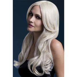 Lange blond Perücke Khloe 66 cm - Fever