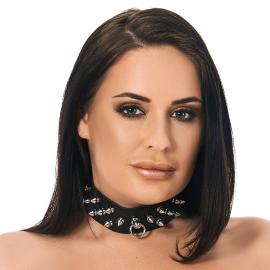 BDSM Halsband mit Spikes (4 cm Breite)