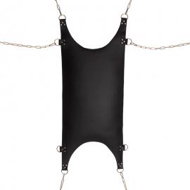 Hamac SM en cuir avec anneaux de suspension - Rimba