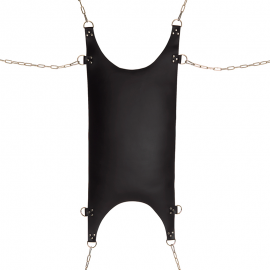 SM leather hammock with suspension rings II - Rimba