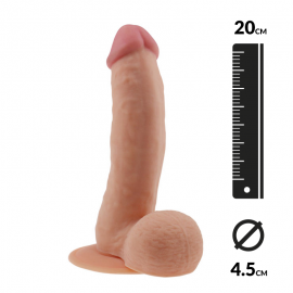 Realistic Dildo (19 cm) - The Ultra Soft Dude