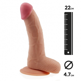 Realistic Dildo (22 cm) - The Ultra Soft Dude 8.8""