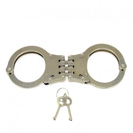 Metal police BDSM hand cuffs - Rimba
