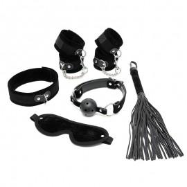 Principianti BDSM Kit Nero (6 pezzi) - Rimba