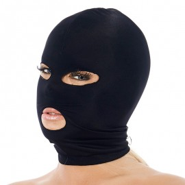 BDSM spandex hood (with open eyes and mouth) - Rimba