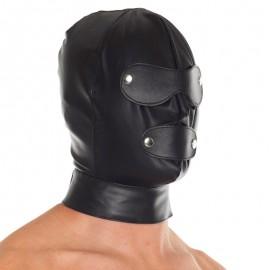 Cappuccio BDSM in pelle - Rimba