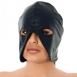 Masque de bourreau BDSM en cuir (unisex) - Rimba