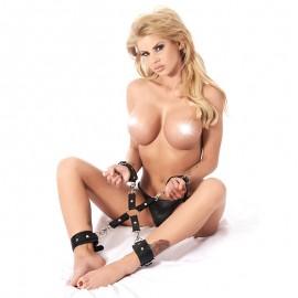 Leder BDSM Fesselkit Hogtie - Rimba