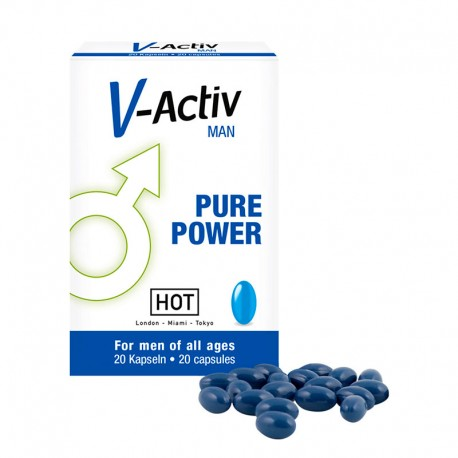 Stimulants sexuels HOT V-Activ Men capsules 20caps