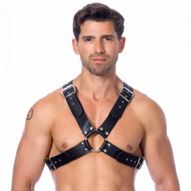 Harnais BDSM en cuir (homme) - Rimba