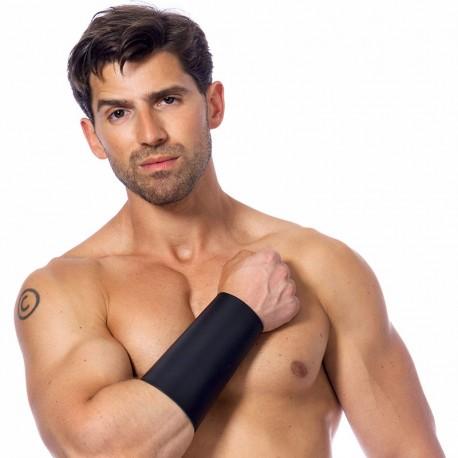 Bdsm leather arm gauntlet (Man) – Rimba
