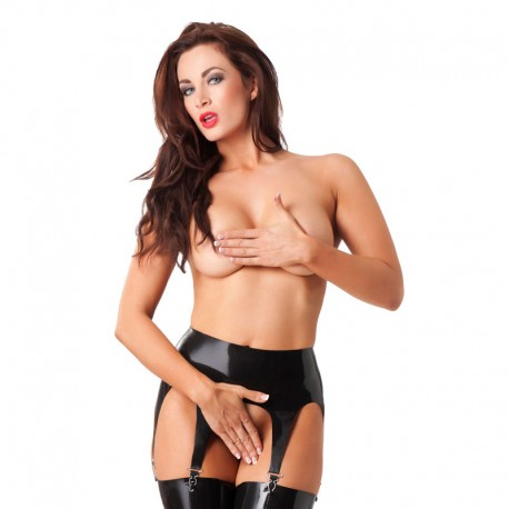 Latex garter belt – Rimba