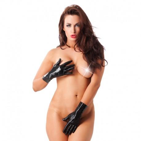 Latex-Handschuhe Schwarz (Kurtze) – Rimba