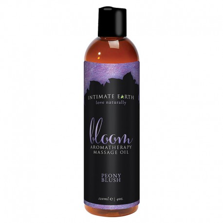 """Massageoil Relax """"Bloom"""" 120ml - Intimate Earth"""