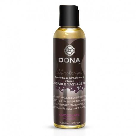 """Kissable Massage Oil """"SChocolate Mousse"""" - Dona"""