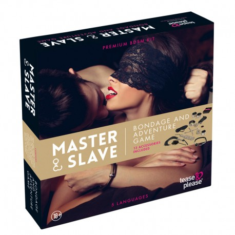 Master & Slave Bondage Game Magenta - Tease & Please