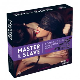 "Giochi per le coppie ""Master & Slave"" Purple - Tease & Please"