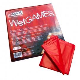 Lenzuolo con angoli impermeabile (180 x 220cm) rosso - Joydivision