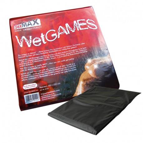 PVC waterproof Bedsheets (180 x 220cm) noir - Joydivision
