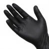 Black Latex Examination Gloves