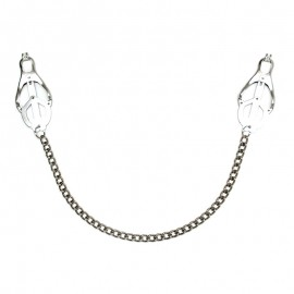 Butterfly Nipple Clamps with chain - Rimba