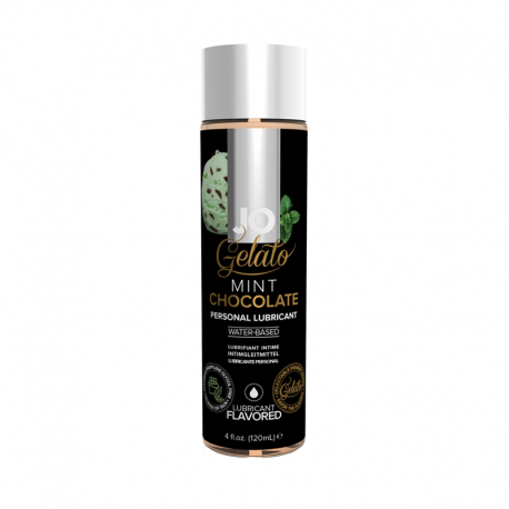 """Flavored lubricant """"Gelato Mint Chocolate"""" - System Jo"""