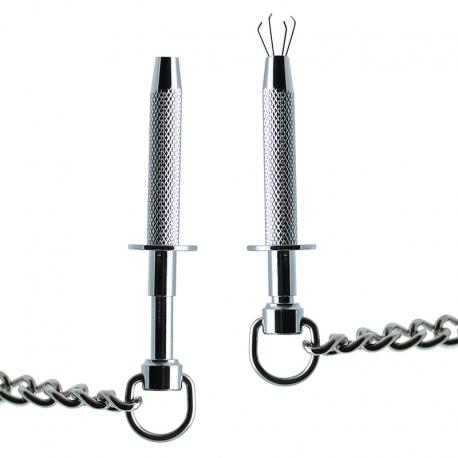 Nipple clamps con gli artigli - Rimba