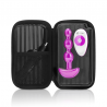 Vibrating Beads with remote control - B-Vibe triplet Fuchsia