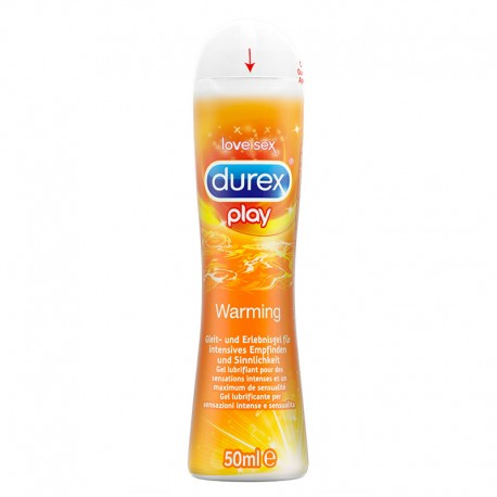 Durex Top Gel Hot - Lubrificante intimo 50ml
