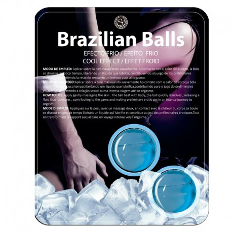 2x Brazilian Balls with cooling effect