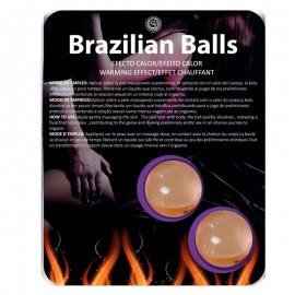 Brazilian Balls - 2x Boules lubrifiantes effet chauffant