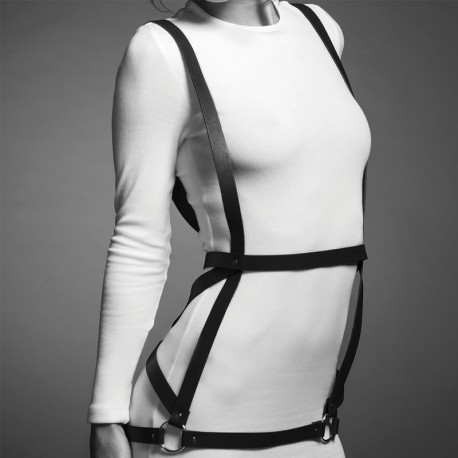 Maze Arrow Dress Harness Black - Bijoux Indiscrets