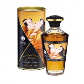 Aphrodisiac warming oil Shunga - Caramel Kisses