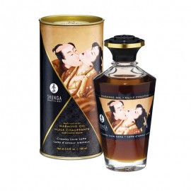 Aphrodisiac warming oil Shunga - Creamy Love Latte