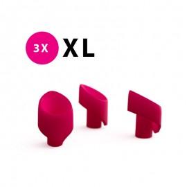Embouts de rechange XL en silicone pour Womanizer 2GO