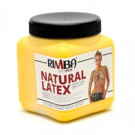 Liquid latex for body painting - Yellow