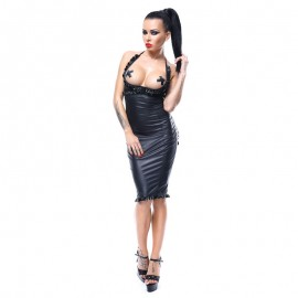 "Robe Sexy noire ""Laureen"" – Demoniq"